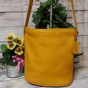 Coach Vintage Sonoma Pebbled Leather Bucket Tote